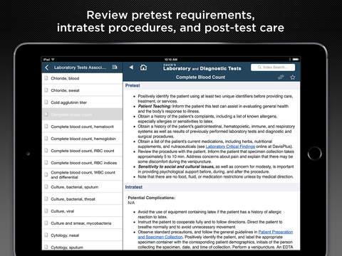 Davis's Lab & Diagnostic Tests screenshot 8