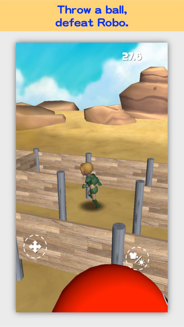 3D Maze Robo FREE screenshot 3