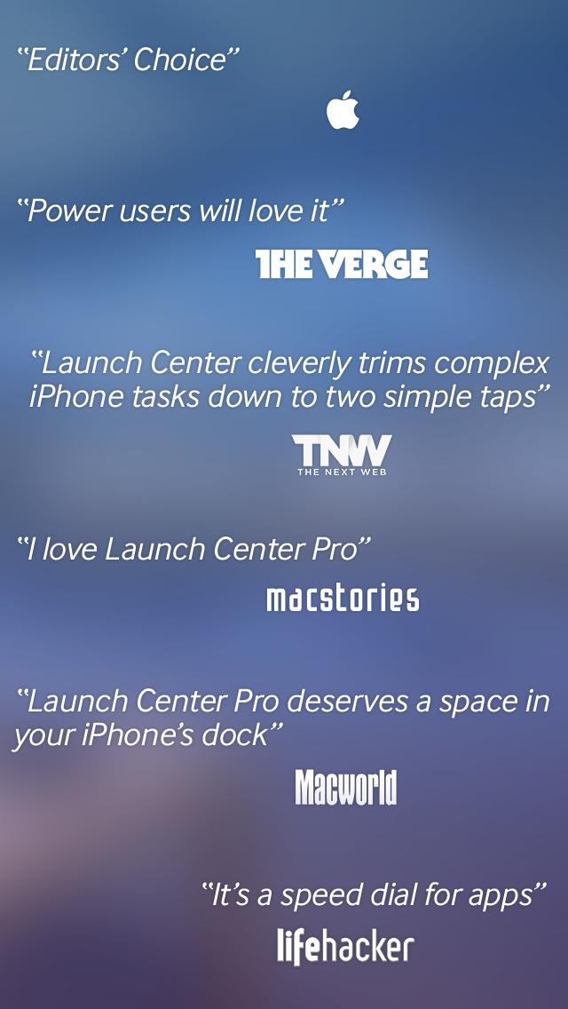 Launch Center Pro screenshot 5