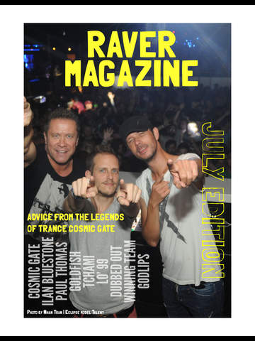 Raver Magazine screenshot 6