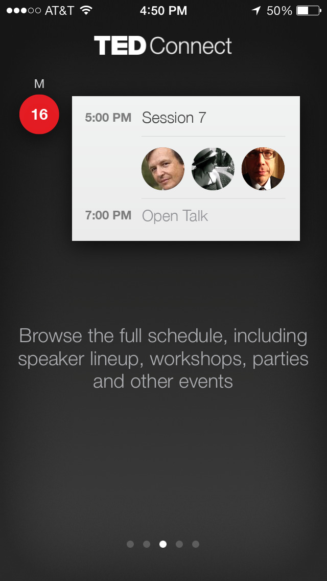 TEDConnect screenshot 4