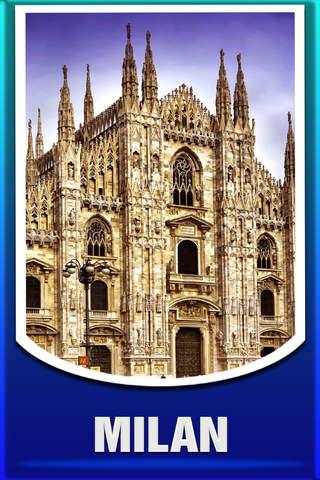 Milan City Offline Tourism Guide - náhled