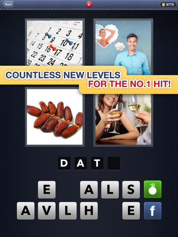 4 Pics 1 Word screenshot #1