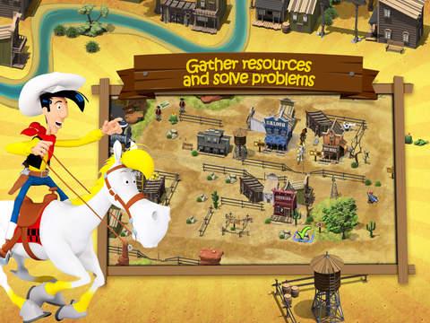 Transcontinental Railroad – Lucky Luke screenshot 8