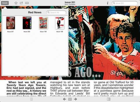 Red News Fanzine screenshot 9