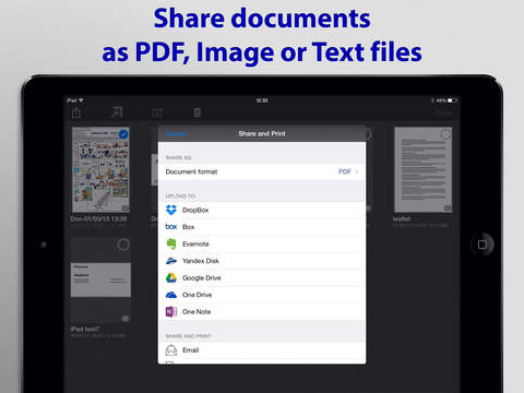 SharpScan Pro: OCR PDF scanner screenshot 10