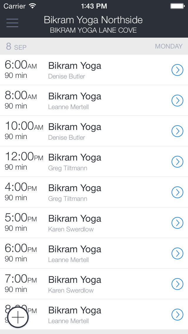 Bikram Yoga Northside screenshot 1