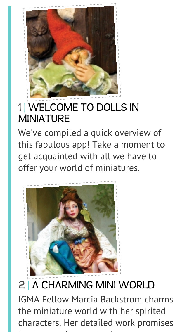 Dolls In Miniature screenshot 2