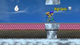 Extreme BMX Highway Rider - Cool speed street racing game screenshot 3