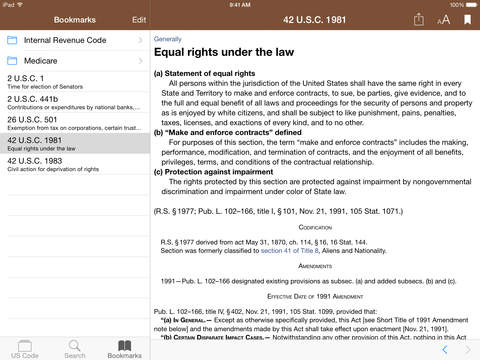 Codification (U.S. Code) screenshot 9