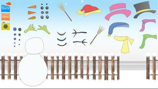 snowman dressup christmasgames screenshot 1