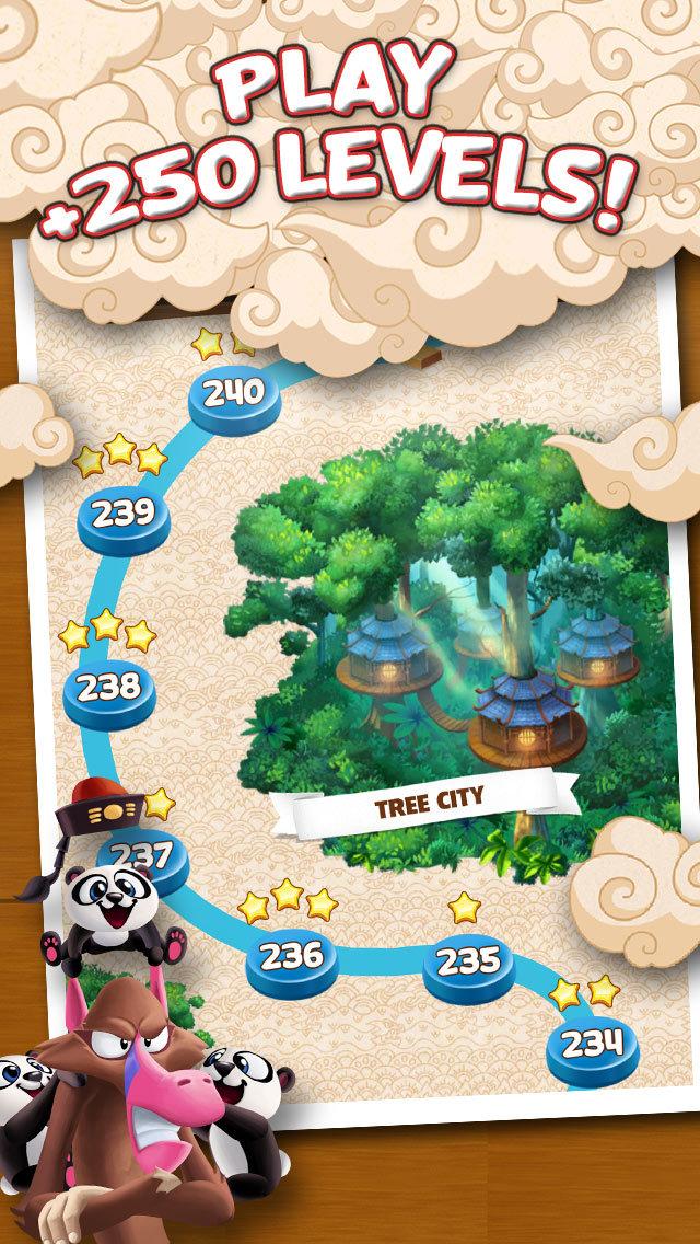 Panda Pop! Bubble Shooter Game screenshot 4
