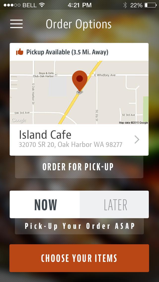 Island Cafe Oak Harbor screenshot 2