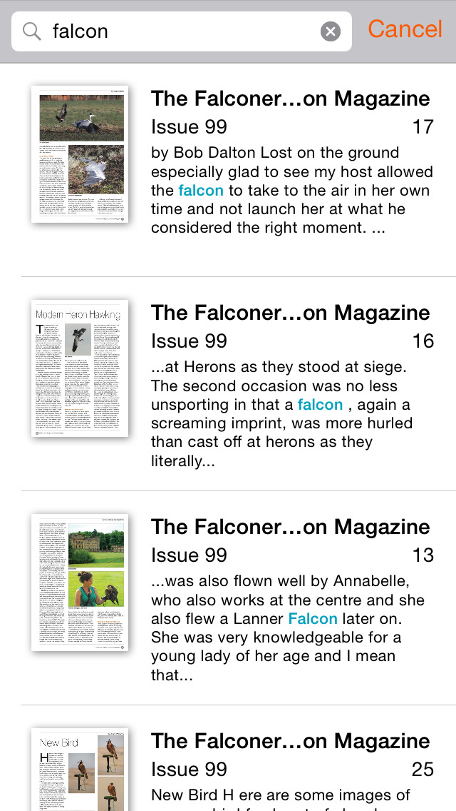 The Falconers & Raptor Conservation Magazine screenshot 4