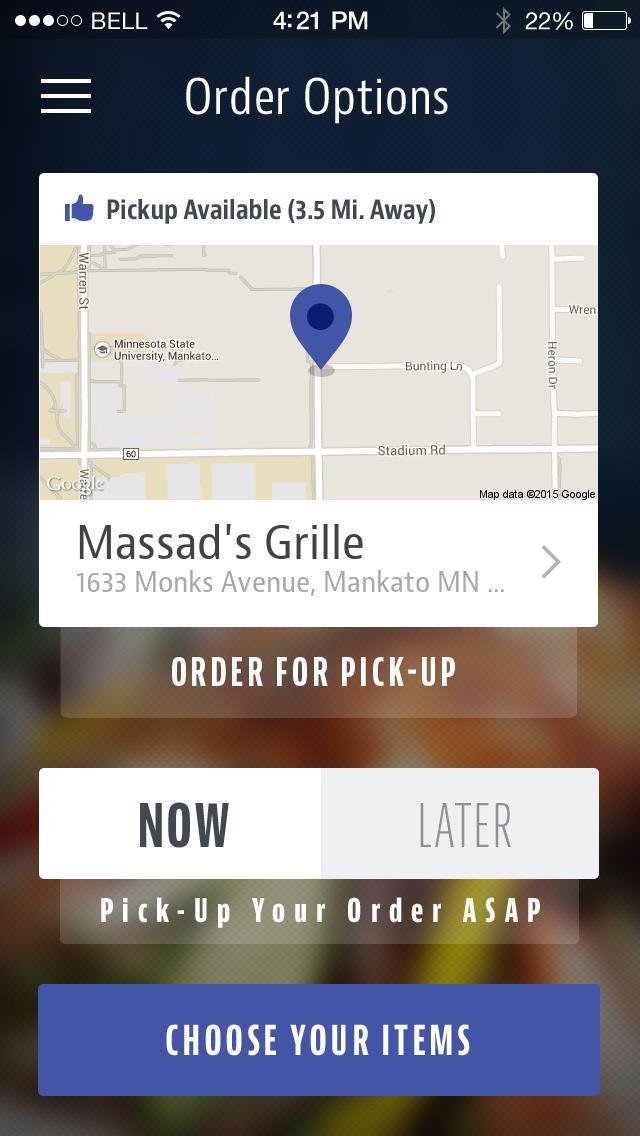 Massad's Grille screenshot 2