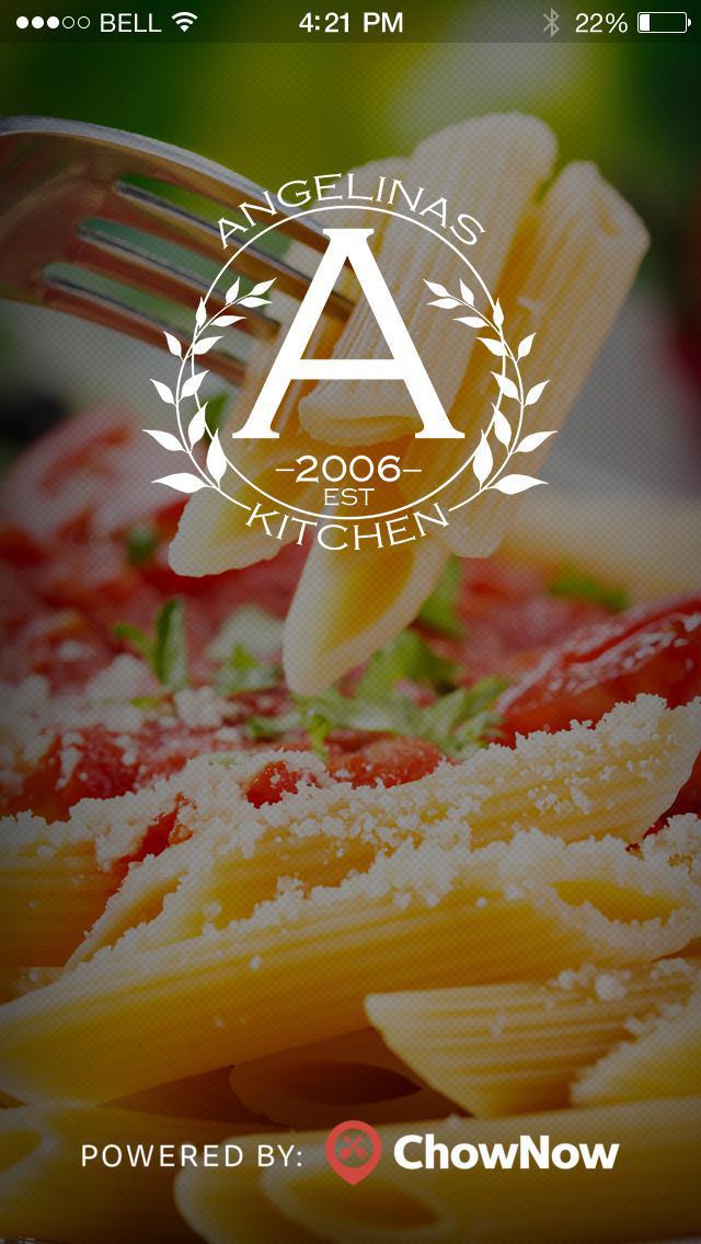 Angelina's Kitchen screenshot 1