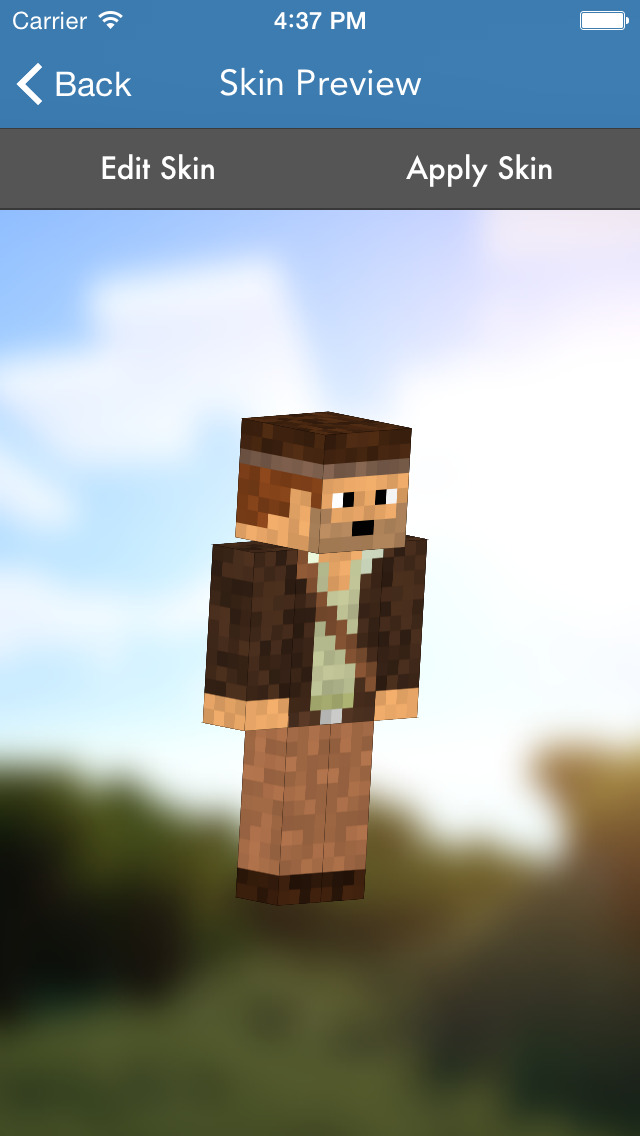 Skins Pro for Minecraft (Unofficial) screenshot 1