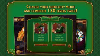 Solitaire Game. Christmas screenshot 4