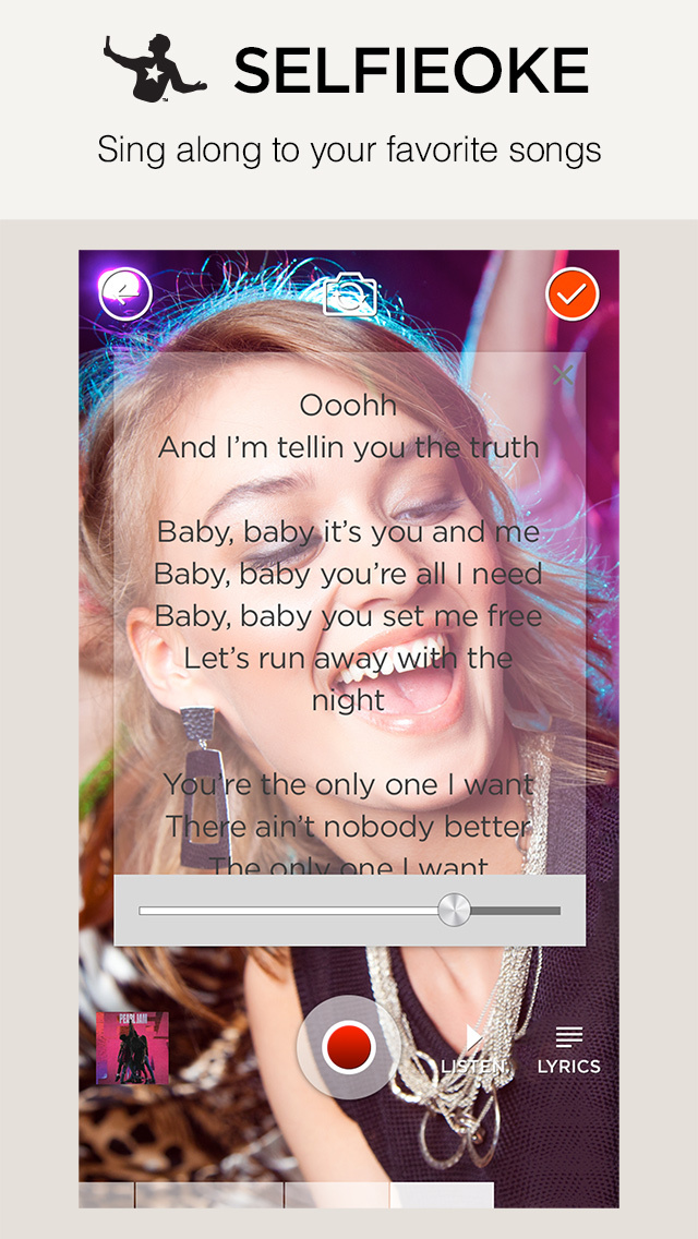 Snapverse – Create Music videos and Selfieoke™ clips. Make movies from your photos. screenshot 3