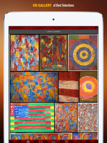 Paintings HD Wallpaper for Jasper Johns and His Inspirational Quotes Backgrounds Creator screenshot 6