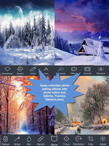 Happy Winter Greeting Cards.Happy Winter e-Cards.Christmas Greeting screenshot 8