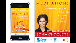 Meditations for Receiving Divine Guidance, Support & Healing - Sonia Choquette screenshot 1