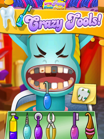 ' A Little Pony Dentist Magic Tooth Doctor - Teeth Fixer Game screenshot 10