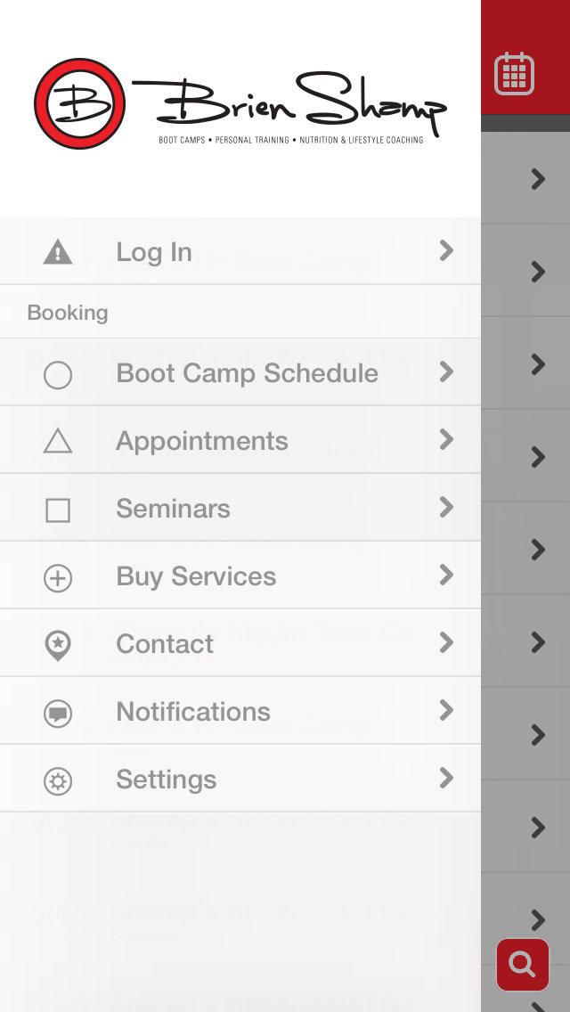 Brien Shamp's Boot Camps screenshot #4