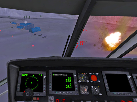 Helicopter Sim Hellfire screenshot 10