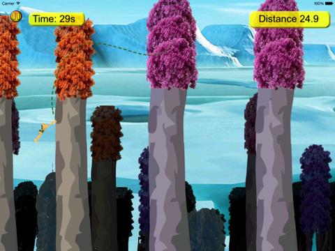 Snow Tarzan Jump Pro screenshot 9