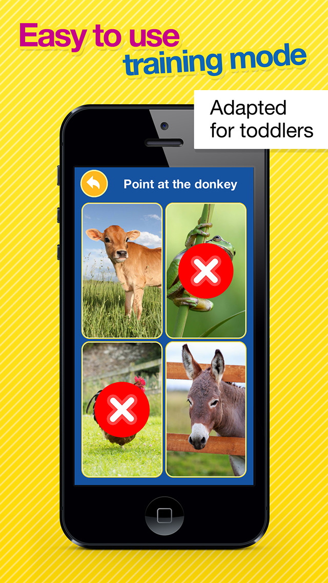Smart Baby Touch HD - Amazing sounds in toddler flashcards of animals, vehicles, musical instruments and much more screenshot 3