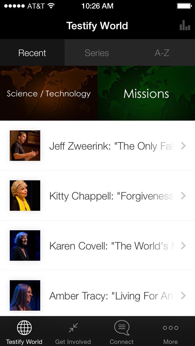 Testify World screenshot 1