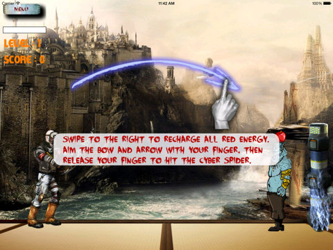 Angry Warrior Arrow PRO - Bow Sniper Shooting Game screenshot 9