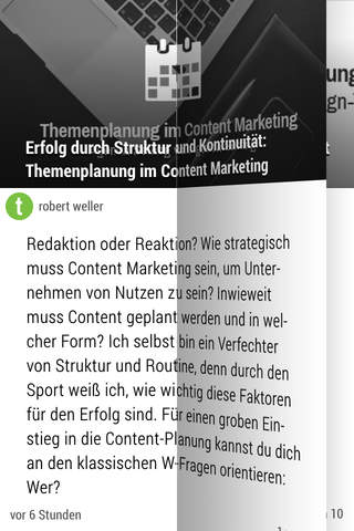 Content Marketing News - náhled