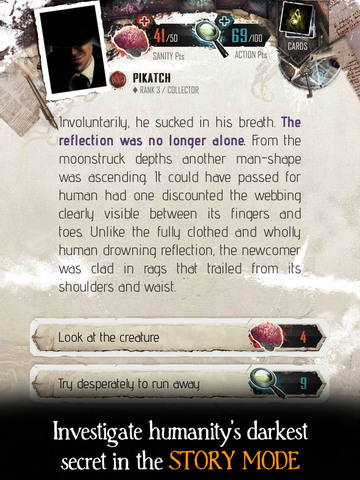 The Moaning Words - Trading Card Game in the Cthulhu Mythos screenshot 9