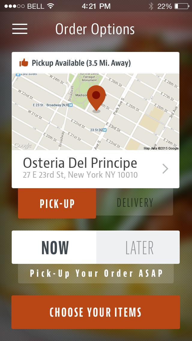 Osteria Del Principe screenshot 2