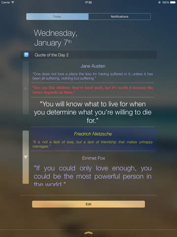 Quote of the Day Widget screenshot 7