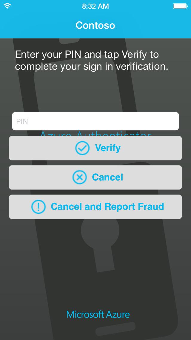 Microsoft Authenticator screenshot 3
