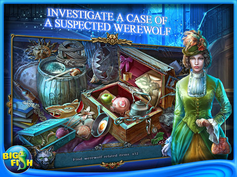 Shadow Wolf Mysteries: Under the Crimson Moon HD - A Hidden Object Mystery Adventure screenshot 2