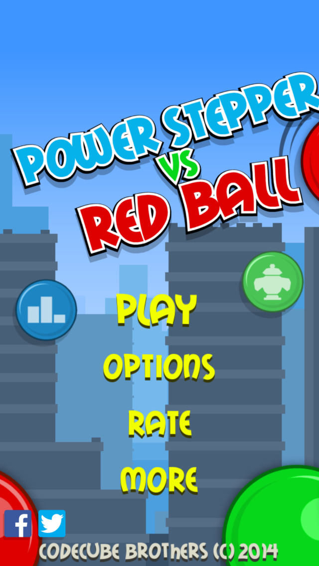 Power Stepper vs Red Ball FREE screenshot 4
