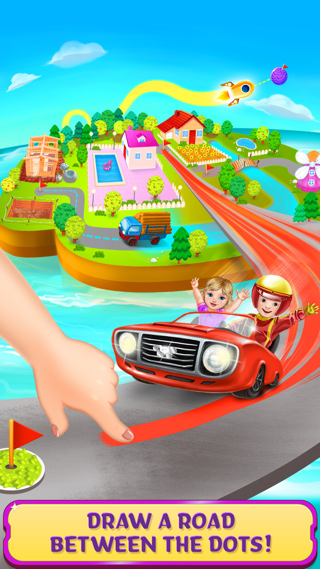 Tiny Roads Car Puzzles screenshot 1