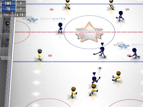 Stickman Ice Hockey screenshot #4