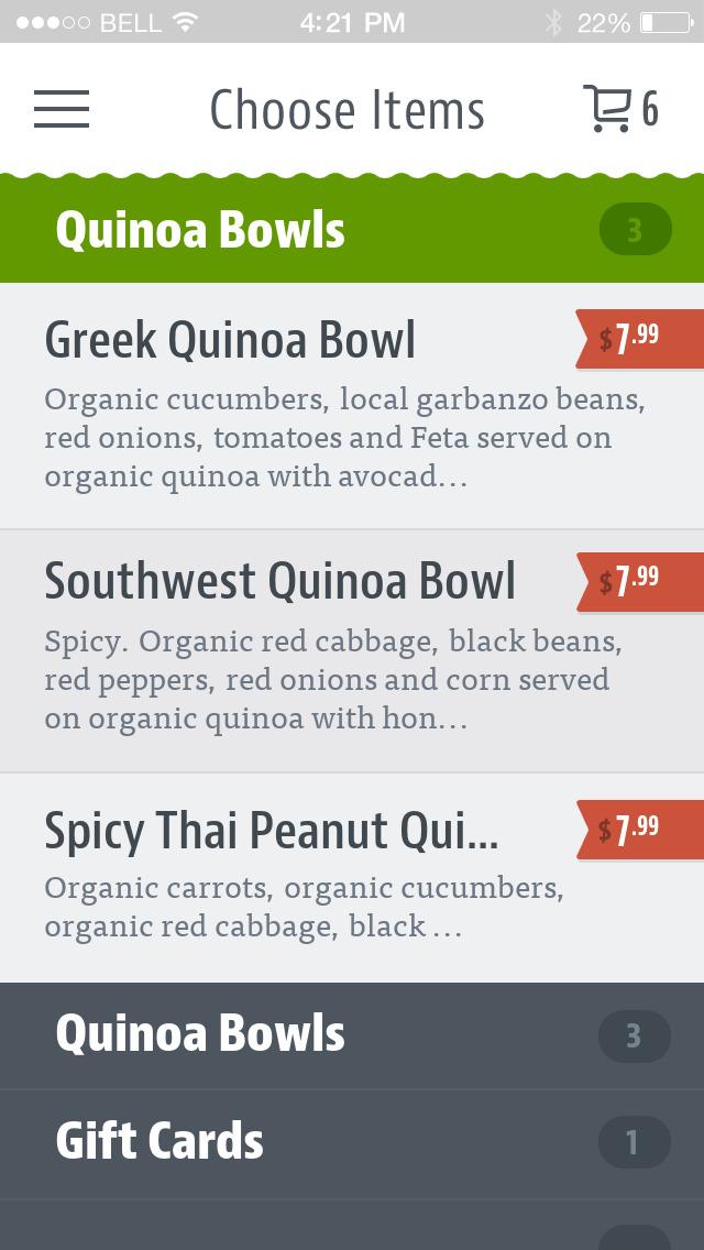 Seattle Salads screenshot 3