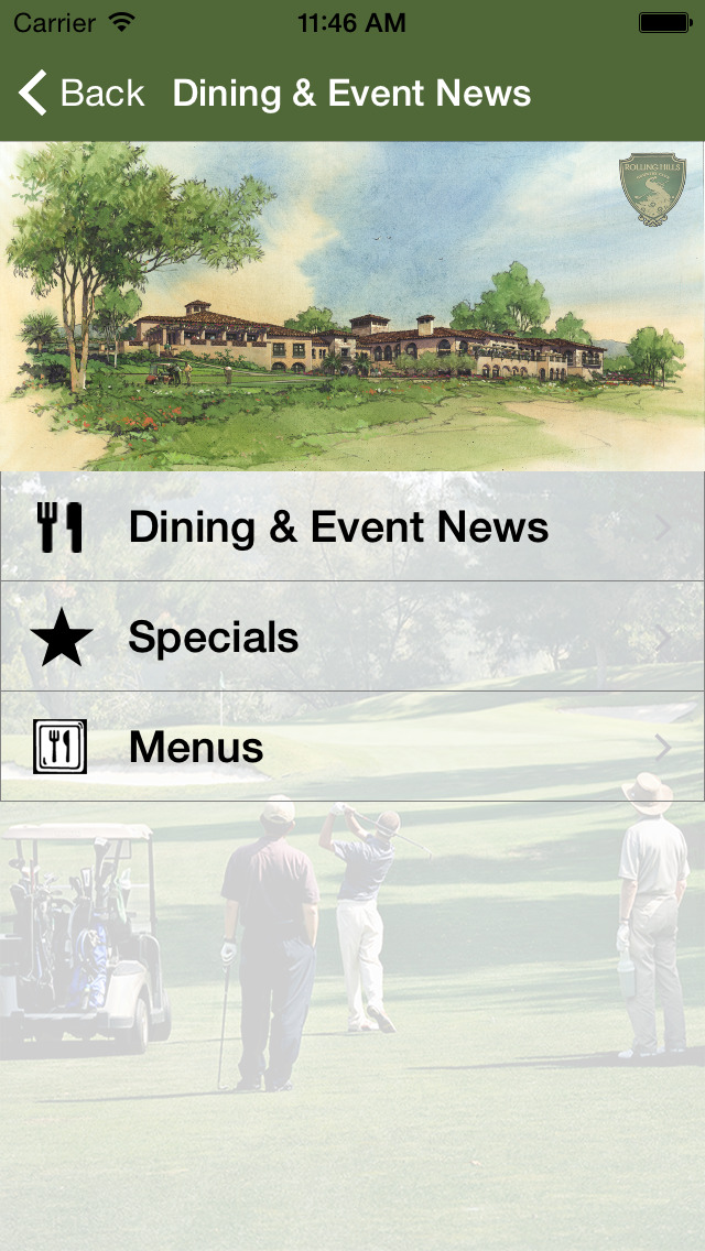 Rolling Hills Country Club CA screenshot 1