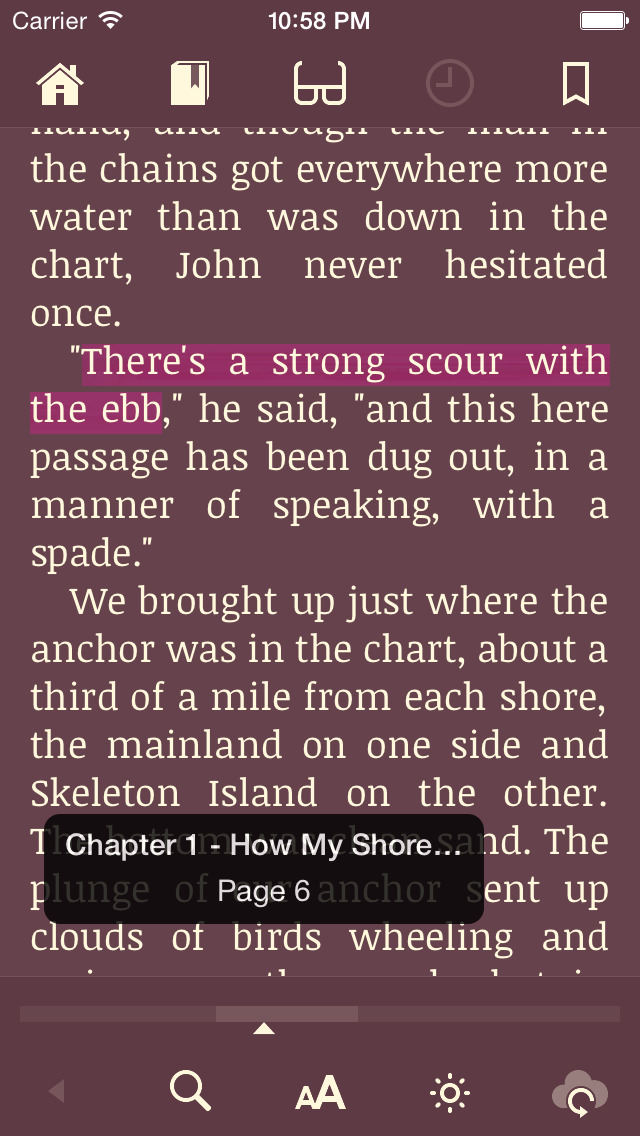 Marvin Classic - eBook reader for epub screenshot 4