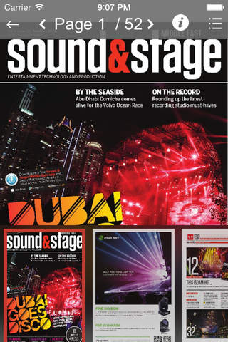 Sound & Stage Middle East - náhled