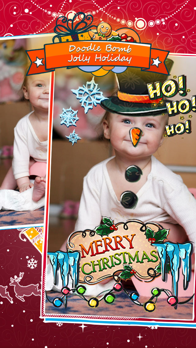 Funny Face Selfie - Holiday Photo Editor (iPhone) reviews at