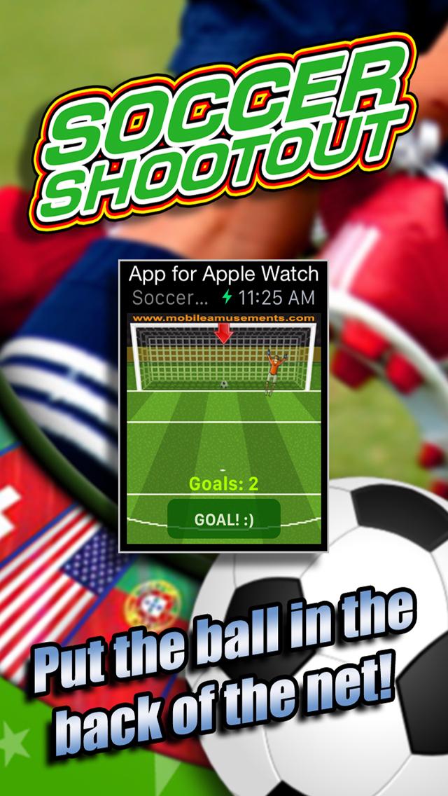 Soccer Shootout for Apple Watch screenshot 1