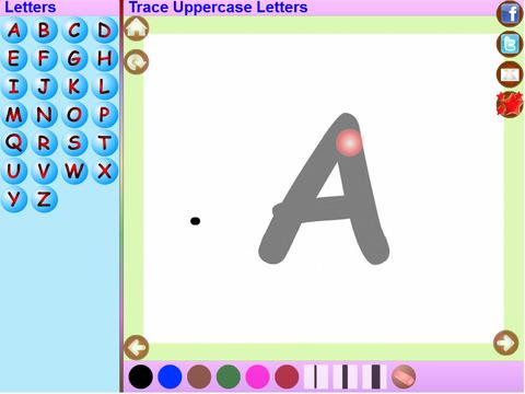 Trace Hindi Alphabets Kids Activity screenshot 6
