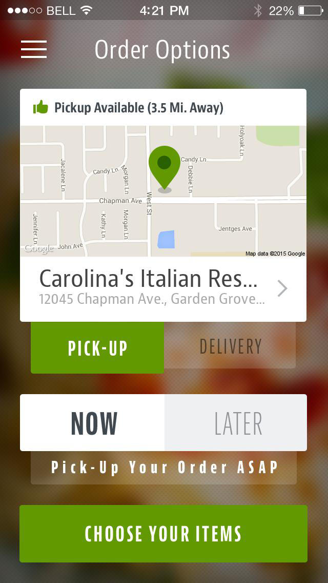 Carolina's Italian Restaurant screenshot 2